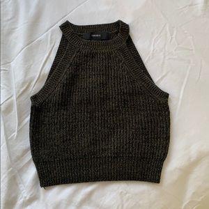 Tops - F21 knit crop